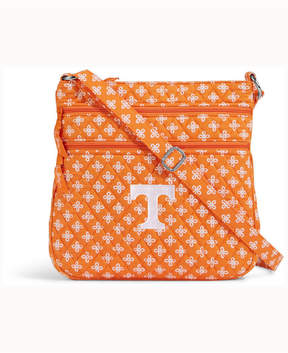 Vera Bradley Tennessee Volunteers Triple Zip Hipster - ORANGE - STYLE