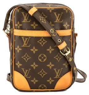 Louis Vuitton Monogram Canvas Danube Shoulder Bag - BROWN - STYLE