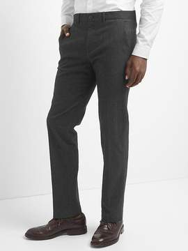 Gap Brushed Cotton Pants in Straight Fit with Stretch