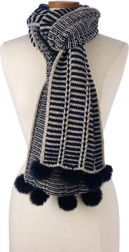 Lands' End Lands'end Women's Nautical Stripe Scarf