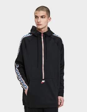 Nike M Nsw Taped Half Zip Hood Poly