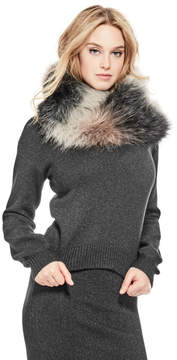 GUESS Judith Faux-Fur Infinity Scarf