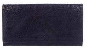 Emporio Armani Leather Flap Wallet