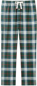 Joe Fresh Men's Drawstring Waist Sleep Pant, Green Mix (Size XS)