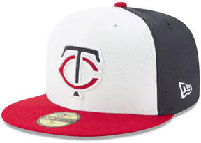 New Era Minnesota Twins Batting Practice Diamond Era 59FIFTY Cap
