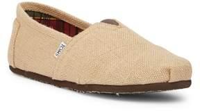 Toms Classic Natural Burlap Slip-On Shoe