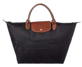Longchamp Le Pliage Medium Nylon Tote. - BLACK - STYLE