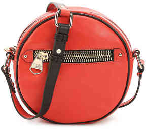 Women's Lottie Leather Crossbody Bag -Red