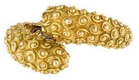 David Webb 18K Bypass Bracelet