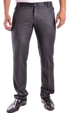 Dirk Bikkembergs Men's Grey Cotton Pants.