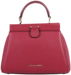 MICHAEL Michael Kors Gramercy Grained Leather Bag - OXBLOOD - STYLE