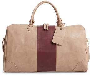 Sole Society 'Robin' Faux Leather Weekend Bag