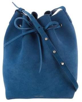 Mansur Gavriel Suede Bucket Bag