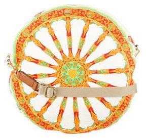 Dolce & Gabbana Wheel Print Round Bag