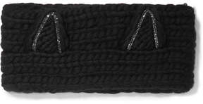 Eugenia Kim Kat Crystal-embellished Wool Headband - Black