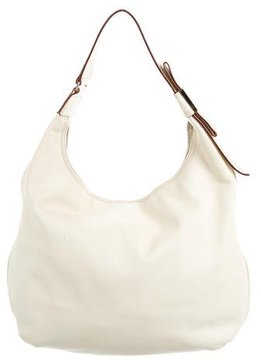 Kate Spade Grained Leather Hobo - NEUTRALS - STYLE