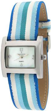 Peugeot Womens Blue Strap Watch-3016bl