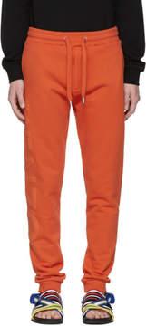 Kenzo Orange Logo Lounge Pants