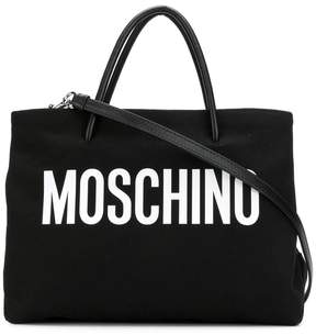 Moschino medium logo tote