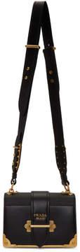 Prada Black Cahier Shoulder Bag