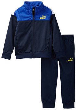 PUMA Track Tricot Jacket & Pant Set (Little Boys)