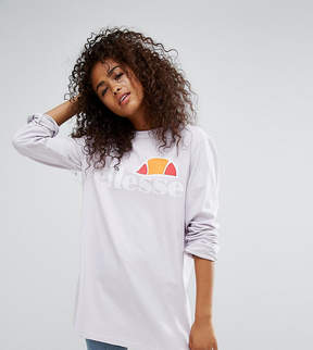 Ellesse Oversized Long Sleeve T-Shirt With Extreme Sleeves
