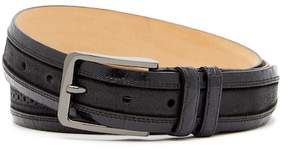 Mezlan Fuscus/Fuji Brogued Genuine Croc Belt