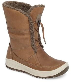 Ecco Women's Trace Hydromax Waterproof Faux Fur Lined Boot