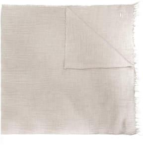 Dondup fringed scarf