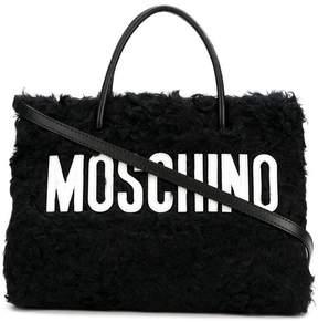 Moschino wool tote bag