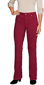 Isaac Mizrahi Live! Petite Icon Grace Boot Cut Jeans