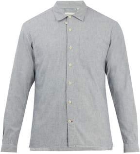 Oliver Spencer Point-collar cotton overshirt