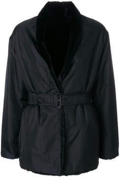 Aspesi short belted trench coat