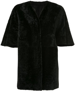 Drome reversible short sleeved coat