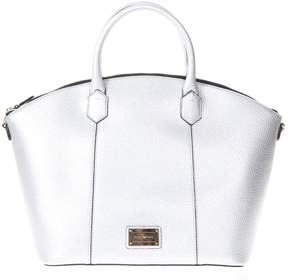 Emporio Armani Steel Large Eco Leather Bag With Removable Shoulder Straps