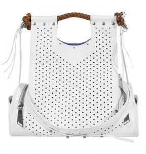 Corto Moltedo Priscilla Perforated Leather Handbag