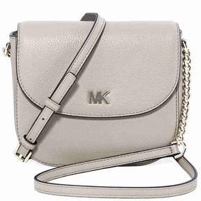 Michael Kors Mott Pebbled Leather Crossbody- Truffle - ONE COLOR - STYLE