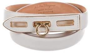 Salvatore Ferragamo Leather Waist Belt