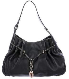 Tod's Drawstring Leather Hobo