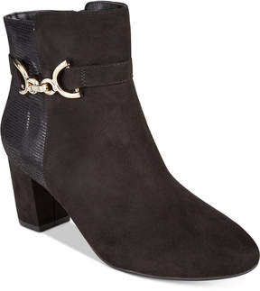 Karen Scott Justyce Ankle Booties, Created for Macy's Women's Shoes