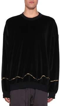 Haider Ackermann Velvet Sweatshirt