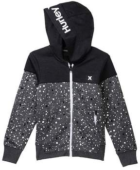 Hurley Printed Dri-Fit Solar Zip Front Hoodie (Big Boys)