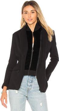 525 America Cotton Velvet Inset Blazer