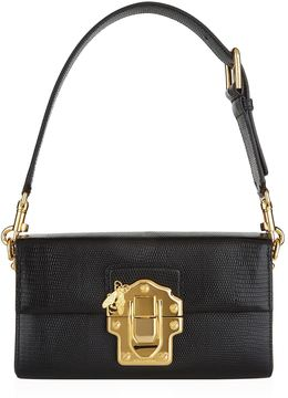 Dolce & Gabbana Lucia Embossed Leather Bag - MULTI - STYLE