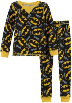 Cuddl Duds Toddler Boy DC Comics Batman 2-pc. Thermal Base Layer Top & Pants Set