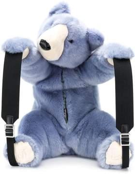 Dolce & Gabbana faux fur teddy backpack