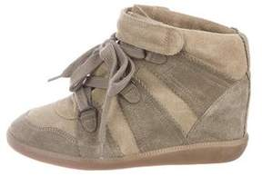 Isabel Marant Over Basket Wedge Sneakers