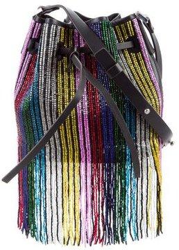 Les Petits Joueurs Mini Rainbow Daliah Bucket Bag w/ Tags