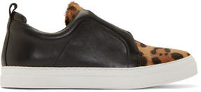 Pierre Hardy Black Stella Slip-On Sneakers