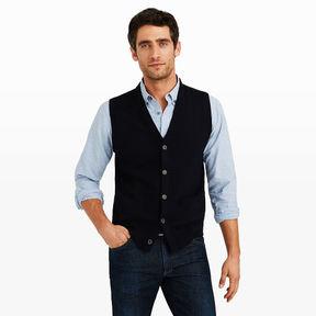 Club Monaco Button Sweater Vest